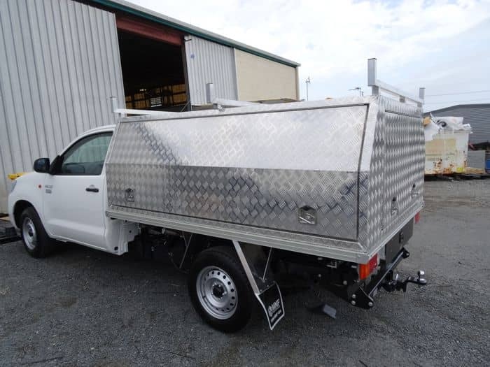 MNF Checkerplate Single Cab Canopy
