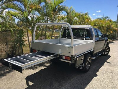 Mazda-BT50---MNF4x4-HD-Tray-with-Rack-Drawer-and-Side-Toolbox